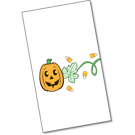 "DXHS325DN01 - Jack-O-Lanterns Design Dinner Napkins 15"" x 17"" (100/pk)"