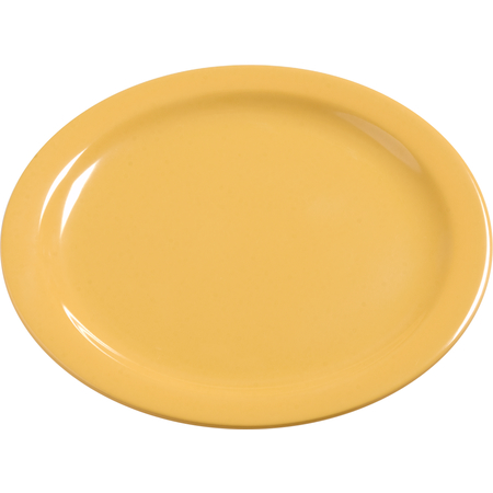 "4385022 - Dayton™ Melamine Dinner Plate 10.25"" - Honey Yellow"