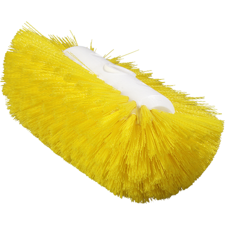 "4004304 - Sparta® Spectrum® Tank & Kettle Brush 5-1/2"" x 9"" - Yellow"