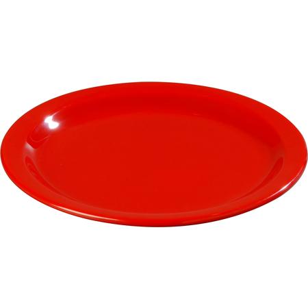"4350105 - Dallas Ware® Melamine Dinner Plate 9"" - Red"
