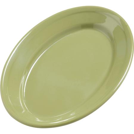 "4387282 - Dayton™ Melamine Oval Platter Tray 9.25"" x 6.25"" - Wasabi"
