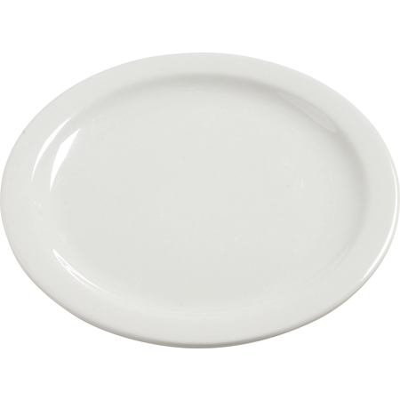 "4385037 - Dayton™ Melamine Dinner Plate 10.25"" - Bavarian Cream"