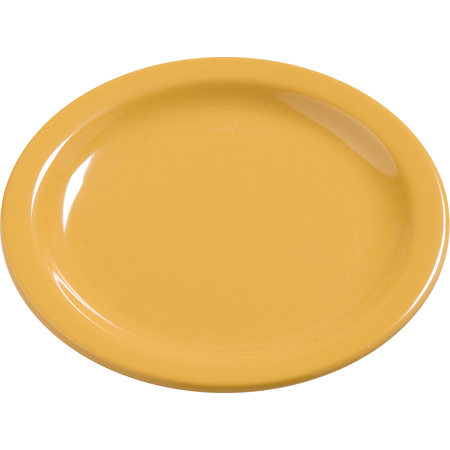 "4385422 - Dayton™ Melamine Salad Plate 7.25"" - Honey Yellow"