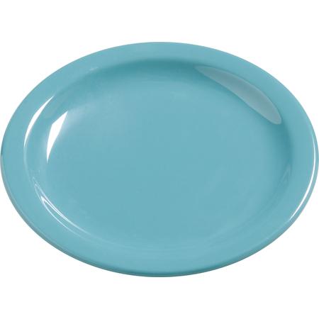 "4385463 - Dayton™ Melamine Salad Plate 7.25"" - Turquoise"