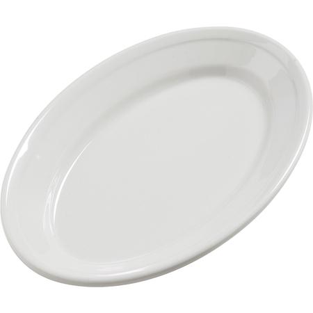 """4387237 - Dayton™ Melamine Oval Platter Tray 9.25"""" x 6.25"""" - Bavarian Cream"""
