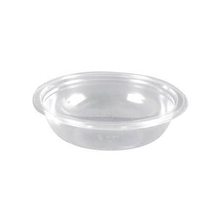 "DX5402PCLR - 7"" Round Salad Bowl 24oz (300/cs) - Clear"