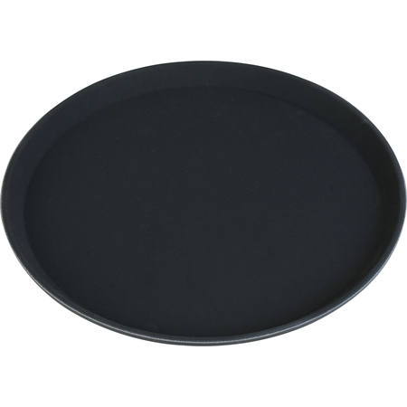 "TB1600004 - Truebasics Round Tray 16"" - Black"