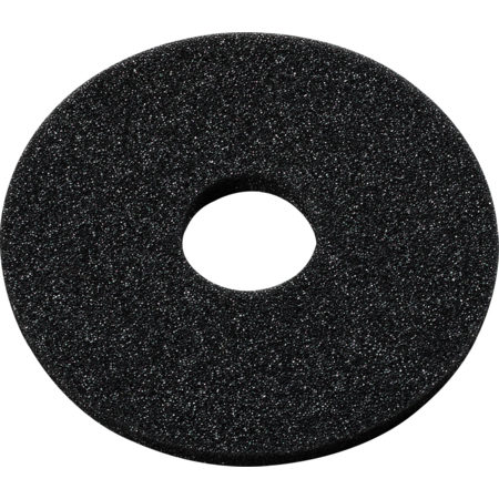 """GR09RS03 - 5-1/2"""" D Sponges for 3-Tier Unit (12ea) - Black"""