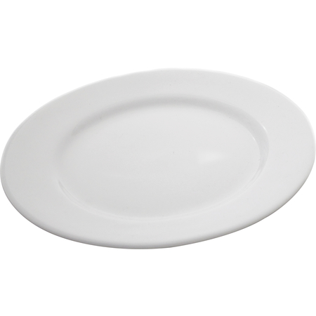 "DX9ACP02A - 9"" China Entree Plate 9"" - Bright White"