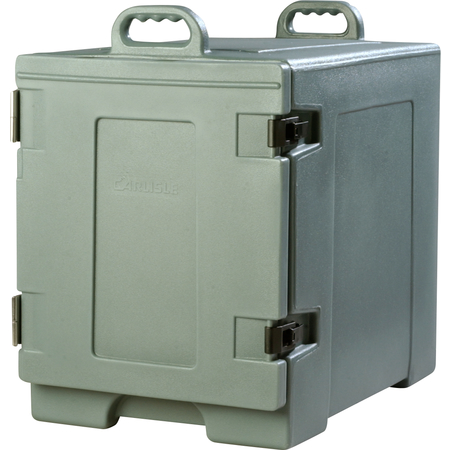 PC300N59 - Cateraide™ Insulated Front Side Loading Food Pan Carrier 5 Pan Capacity - Slate Blue