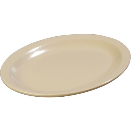 "KL12725 - Kingline™ Melamine Oval Platter Tray 12"" x 9"" - Tan"