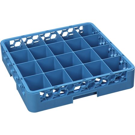 RC2014 - OptiClean™ Tilted Cup Rack 20 Compartment - Carlisle Blue