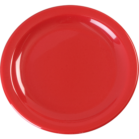 "KL20405 - Kingline™ Melamine Pie Plate 6.5"" - Red"