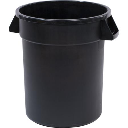 34102003 - Bronco™ Round Waste Bin Trash Container 20 Gallon - Black