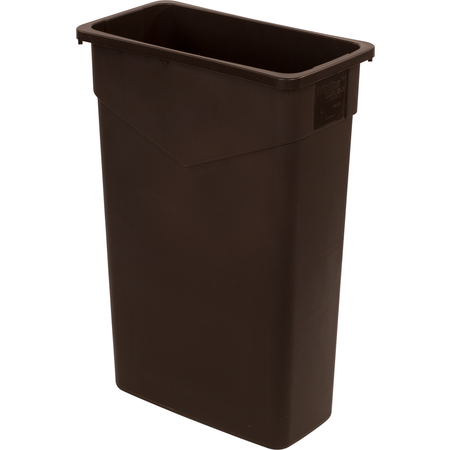 34202369 - TrimLine™ Rectangle Waste Container 23 Gallon - Dark Brown