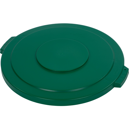 34104509 - Bronco™ Round Waste Bin Trash Container Lid 44 Gallon - Green