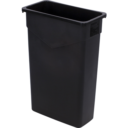 34202303 - TrimLine™ Rectangle Waste Container Trash Can 23 Gallon - Black