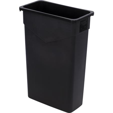 34202303 - TrimLine™ Rectangle Waste Container 23 Gallon - Black