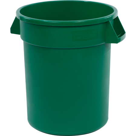 34102009 - Bronco™ Round Waste Bin Trash Container 20 Gallon - Green