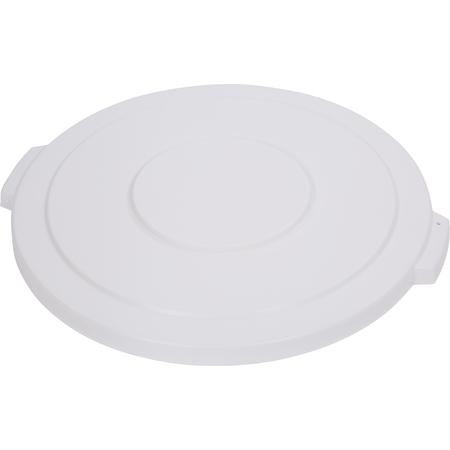 34104502 - Bronco™ Round Waste Bin Trash Container Lid 44 Gallon - White
