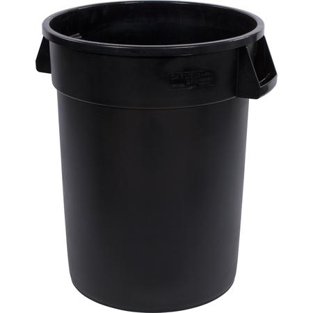 34103203 - Bronco™ Round Waste Bin Trash Container 32 Gallon - Black