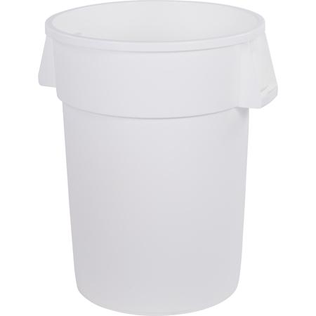 34104402 - Bronco™ Round Waste Bin Trash Container 44 Gallon - White