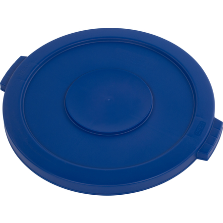 34102114 - Bronco™ Round Waste Bin Food Container Lid 20 Gallon - Blue