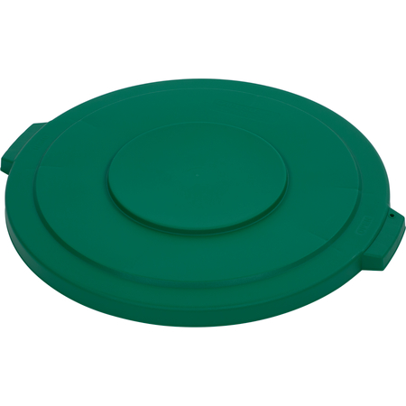 34103309 - Bronco™ Round Waste Bin Trash Container Lid 32 Gallon - Green