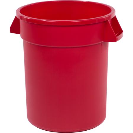 34102005 - Bronco™ Round Waste Bin Trash Container 20 Gallon - Red