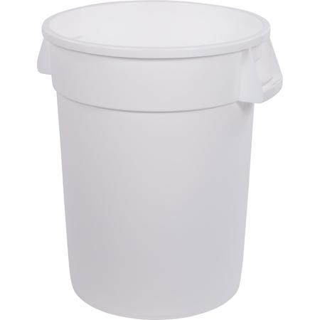 34103202 - Bronco™ Round Waste Bin Trash Container 32 Gallon - White