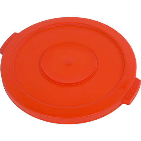 34102124 - Bronco™ Round Waste Bin Trash Container Lid 20 Gallon - Orange