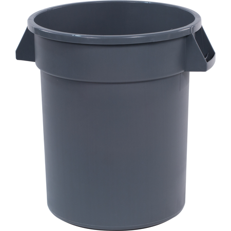 34102023 - Bronco™ Round Waste Bin Trash Container 20 Gallon - Gray