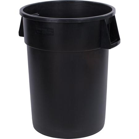 34104403 - Bronco™ Round Waste Bin Trash Container 44 Gallon - Black