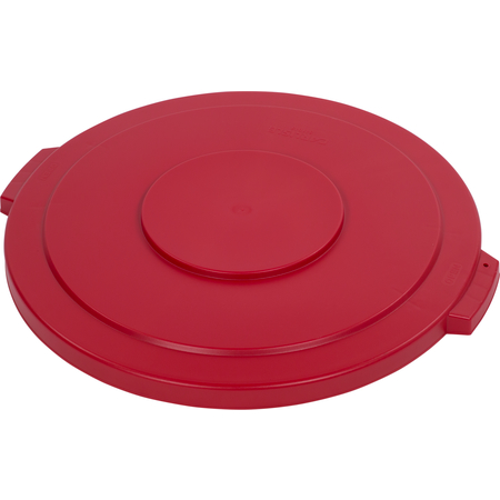 34104505 - Bronco™ Round Waste Bin Trash Container Lid 44 Gallon - Red