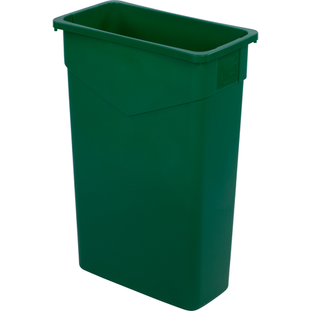 34202309 - TrimLine™ Rectangle Waste Container Trash Can 23 Gallon - Green