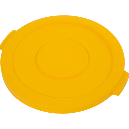 34102104 - Bronco™ Round Waste Bin Food Container Lid 20 Gallon - Yellow
