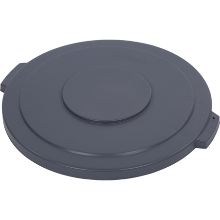 34104523 - Bronco™ Round Waste Bin Trash Container Lid 44 Gallon - Gray