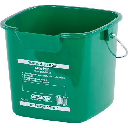 1183109 - Square Suds Pail® 3 qt - Green