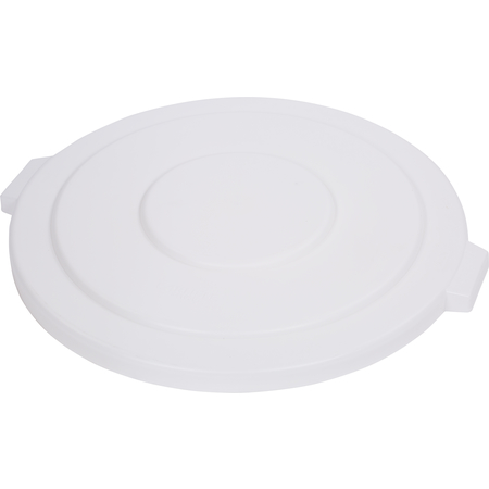 34105602 - Bronco™ Round Waste Bin Trash Container Lid 55 Gallon - White