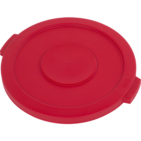 34102105 - Bronco™ Round Waste Bin Trash Container Lid 20 Gallon - Red