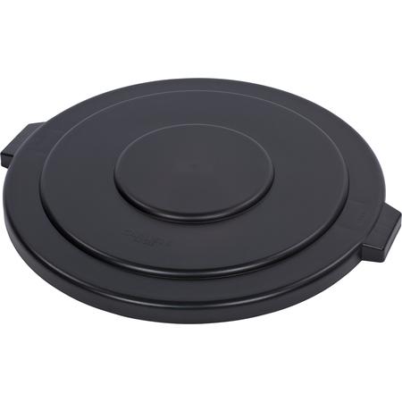 34105603 - Bronco™ Round Waste Bin Trash Container Lid 55 Gallon - Black
