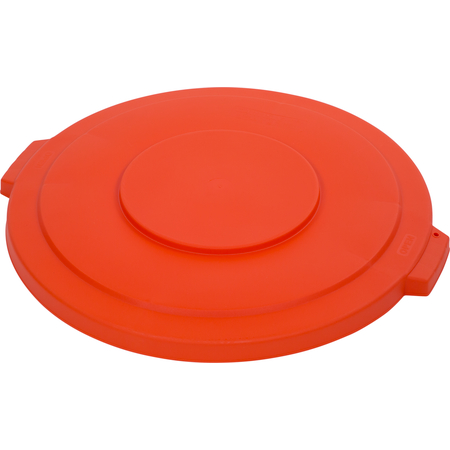 34103324 - Bronco™ Round Waste Bin Trash Container Lid 32 Gallon - Orange
