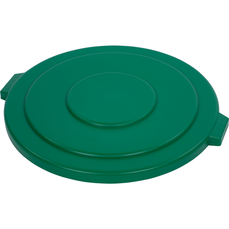 34105609 - Bronco™ Round Waste Bin Trash Container Lid 55 Gallon - Green