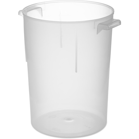 080530 - Polypropylene Bain Marie Food Storage Container 8 qt - Translucent