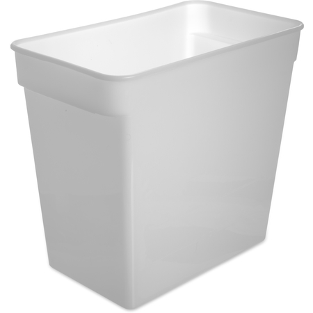 162902 - StorPlus™ Polyethylene Space Saver Food Storage Container 18 qt - White