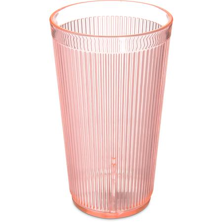 403552 - Crystalon® RimGlow™ Tumbler 20 oz - Glo-Sunset Orange