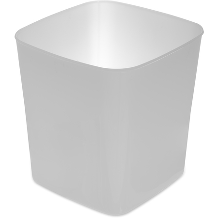 156802 - StorPlus™ Polyethylene Space Saver Food Storage Container 8 qt - White