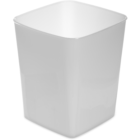154402 - StorPlus™ Polyethylene Space Saver Food Storage Container 4 qt - White