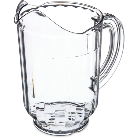 554707 - Versapour® SAN Pitcher with Window 60 oz. - Clear