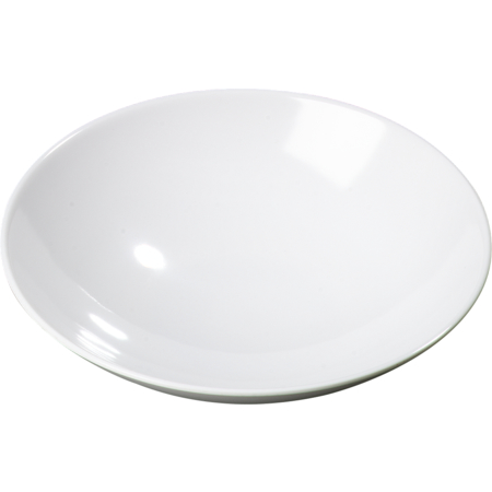 ARR24002 - Melamine Shallow Open Vegetable Bowl 46 oz - White